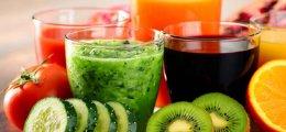 Deliciosos zumos de frutas